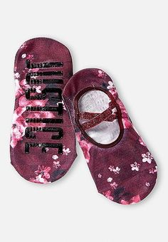 Floral Slipper Socks | Justice