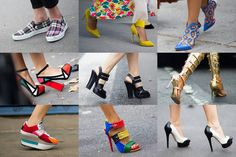 Spring shoes are off the chain this year. Check these out.