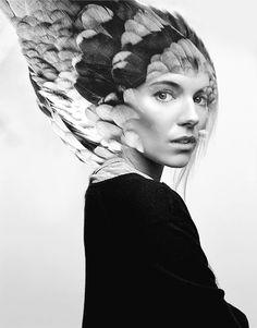 Sienna Miller Sienna Miller, Double Exposure, Antonio Mora, Artwork, Pictures, Design, Photos, Work Of Art, Auguste Rodin Artwork