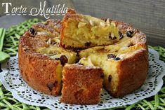 cake matilda recipe sweet fruit preparation with apples Torte Cake, Cake Bars, Italian Pasta Recipes, Italian Desserts, Torta Matilda, Yogurt, Pie Co, Best Apple Pie, Apple Pies
