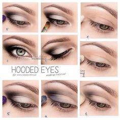 14 Imagini Captivante Cu Machiaj Pleoape Cazute Hooded Eye Makeup