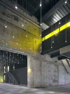 Like stars in a building, great use of lighting.