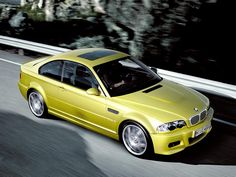 E46 BMW M3 in Phoenix Yellow.....