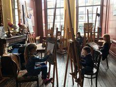 Modeltekenen op atelier #Haarlem