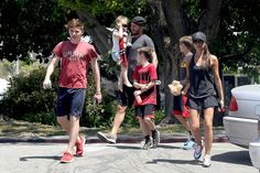 Victoria Beckham - The family that gets fit together in the poshest way, stays together.