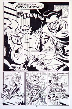Bruce Timm Batman Adventure Mad Love page 2 , in AlanN's Bruce Timm Comic Art Gallery Room - 199766