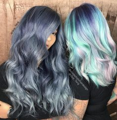 """Hello to all the HairBesties in the land! #Distressed #Denim and #Pastel #Dream with @shadyscloset @shadyondeck and @darthlux new video with Guy Tang and…"""