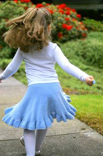 Colour Adventures and Knitting Adventures: Twirly Girly Skirt