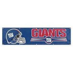 Ny Giants 8ft X 2ft Banner
