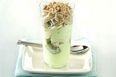 Key Lime Parfait - use greek yogurt and lime juice -the tart creaminess of the pie without the calories #Kraftrecipes