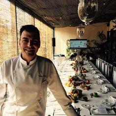 Belvedere Spritz Collection Press lunch in La Pérgola with special menu by Ramón Freixa.