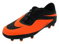 competitive price 0fdee 5f66c Nike Shoes · Youth Hypervenom Phelon FG Soccer Cleat Black Bright Citrus  (3.5y) --