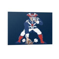 Patriots Parody Canvas Print