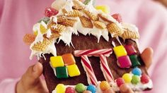 Start a tradition of making gingerbread houses with family or friends.  The decorating is fun and easy enough for kids of all ages!