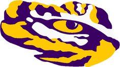 lsu tiger eye logo clipart free clip art images lsu and saints rh pinterest com lsu logos free lsu logos vector