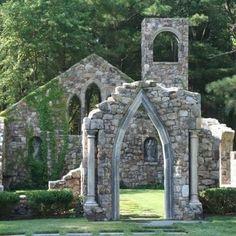 Landscape Gothic Folly Design,