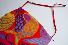 Fabric Basket with Ties: Free Pattern + Tutorial | Sew Mama Sew