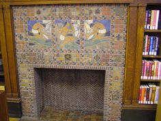 St. Louis Public Library. Moravian Pottery and Tile Works of Doylestown, Pennsylvania.