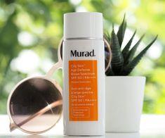 Murad City Skin Age Defence Broad Spectrum SPF50 | British Beauty Blogger Best Spf Sunscreen, Tanning Sunscreen, Argon Oil, Broad Spectrum, Face And Body, Cleanser, British, Skin Care, Cosmetics