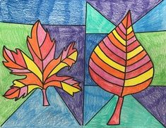 Warm and Cool Colors Activity Fall Leaves Autumn Season TPT Teachers Pay Teachers The Creative Educator dzieci Warm and Cool Colors - Warm Colored Leaves - Autumn / Fall Color Art Lessons, Art Lessons For Kids, Art Lessons Elementary, Mondrian, First Grade Art, 4th Grade Art, Fall Art Projects, School Art Projects, Fall Arts And Crafts
