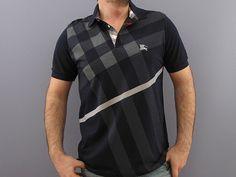 Burberry Mens Polo Shirt NAVY Homens b0861ec623066