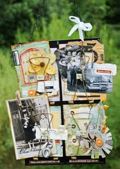 BlueMoon Scrapbooking: 7gypsies Receipt Holders by Melissa and Rahel