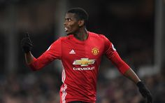 Download wallpapers Paul Pogba, 4k, Manchester United, football, Premier League, England, French footballer