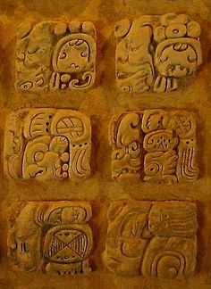 The Belize Maya Guide, with all the facts on the mayan civilization. Belize is blessed with an outstanding archaeological heritage of Maya temples and palaces. Ancient Scripts, Ancient Symbols, Ancient Artifacts, History Chanel, Mayan Glyphs, Aztecas Art, Aztec Symbols, Maya Civilization, Aztec Culture