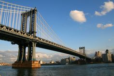The famous   is one of the oldest #suspensionbridges which is situated in #NewYork and it connects #Brooklyn to #Manhattan over the #EastRiver. While out in the City remember to visit attractions so you may know more about the history of the country. Book your #hotel with #Travelagency www.traveltura.com
