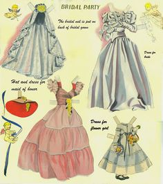 Big Big Cut Out Book pieced together - Bobe Green - Álbumes web de Picasa Paper Doll Costume, Barbie Paper Dolls, Victorian Paper Dolls, Vintage Paper Dolls, Beautiful Costumes, Beautiful Dolls, My Size Barbie, Maid Of Honour Dresses, Gown Pattern