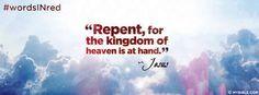 Jesus Said Repent.