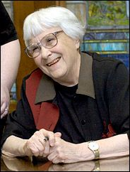 Harper Lee - author, Pulitzer Prize winner and awarded Presidential Medal of Freedom: TO KILL A MOCKINGBIRD
