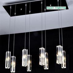 amplio comedor lmparas de techo cristal luces de gran bloque cristal simple cristal colgante de