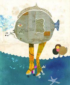 Andrea d'Aquino Collage-Illustration