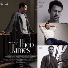 #TheoJames has once again graced the pages of a magazine. In this case, it is InStyle (March 2016 edition) that has caught the prize. Two prizes for that matter, as the beautiful #ShaileneWoodley is also gracing, not only its pages, but also the cover! Check out the full scans, as well as the brand new interview, at THETHEOLOGIANS.net (link in bio) . **PLEASE CREDIT THETHEOLOGIANS.NET If you use these scans**