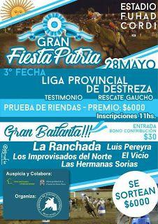 Así Somos: Deán Funes invita a la Gran Fiesta Gaucha y 3ª fec...