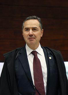 Ministro Luís Barroso entrando no plenário para início da sessão. Foto: Carlos Humberto/SCO/STF