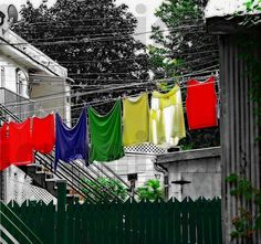 The clothesline Creative art photo for by boutiquephotoshop