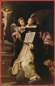 Blessed Memorial of St Thomas Aquinas O.P. (1225-1274 aged 49) THE ANGELIC DOCTOR – DOCTOR of the CHURCH/Priest, Religious, Theologian, Philosopher, Write, Teacher, Jurist.   Also known as: Angelic Doctor/Doctor Angelicus/Doctor Communis/Great Synthesizer/The Dumb Ox/The Universal Teacher.    Patron of Academics, Theologians, against storms; against lightning; .......