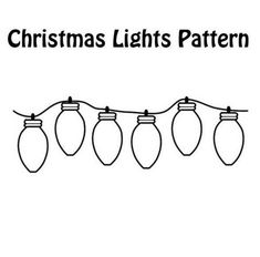 print coloring page and book christmas lights coloring page for kids of all ages