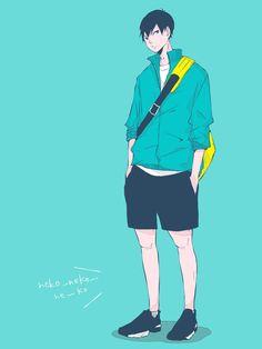 Haikyuu Kageyama, Haikyuu Fanart, Kagehina, Haikyuu Anime, Anime Art Girl, Anime Guys, Sharingan Wallpapers, Tsukkiyama, Akaashi Keiji