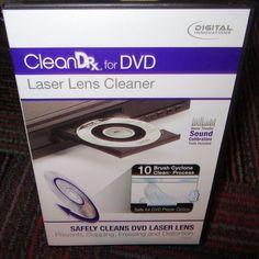 DIGITAL INNOVATIONS CLEAN DRX FOR DVD - LASER LENS CLEANER 4190200, GUC