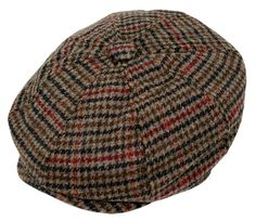 Mens Dress Hats, Fancy Hats, News Boy Hat, Mens Caps, Fedora Hat, Hats For Men, Houndstooth, Caps Hats, Wool Blend