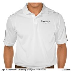 Days of the week - Thursday Polo Shirt