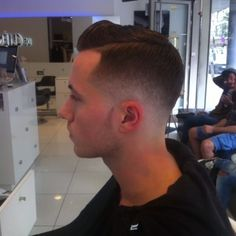 side part fade-pin it from carden. Sheer perfection. I hope I get this good with my fades