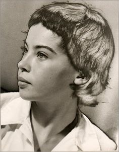 Leslie Caron by Man Ray