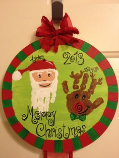 Cute And Fun Christmas Handprint And Footprint Crafts For Kids – Christmas with Katie Grace – Weihnachten Christmas Handprint Crafts, Handprint Art, Preschool Christmas, Toddler Christmas, Christmas Activities, Christmas Decorations For Kids, Christmas Crafts For Kids, Holiday Crafts, Christmas Christmas
