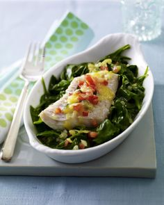 Unser beliebtes Rezept für Fisch-Spinat-Gratin und mehr als 55.000 weitere kostenlose Rezepte auf LECKER.de.