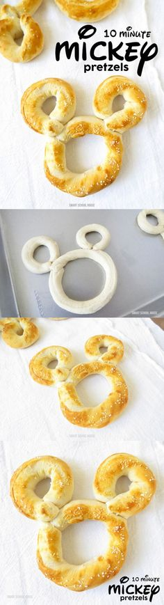 Mickey Pretzels - They only take 10 minutes to make!