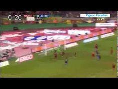 伝説柿谷1G1A 日本 対ベルギー ハイライト - YouTube